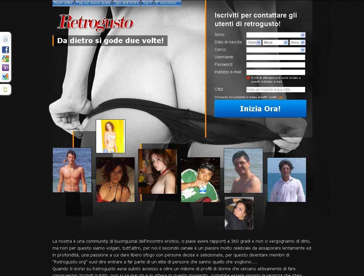 sito incontri online risk Torino